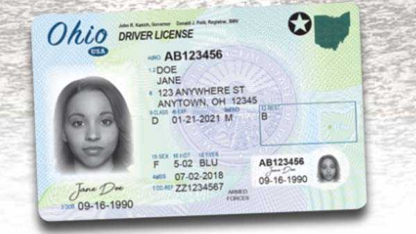 ohio drivers licenses are getting a new look