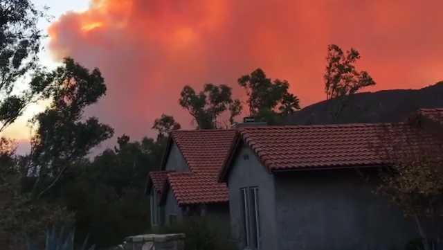 Ojai wildfire