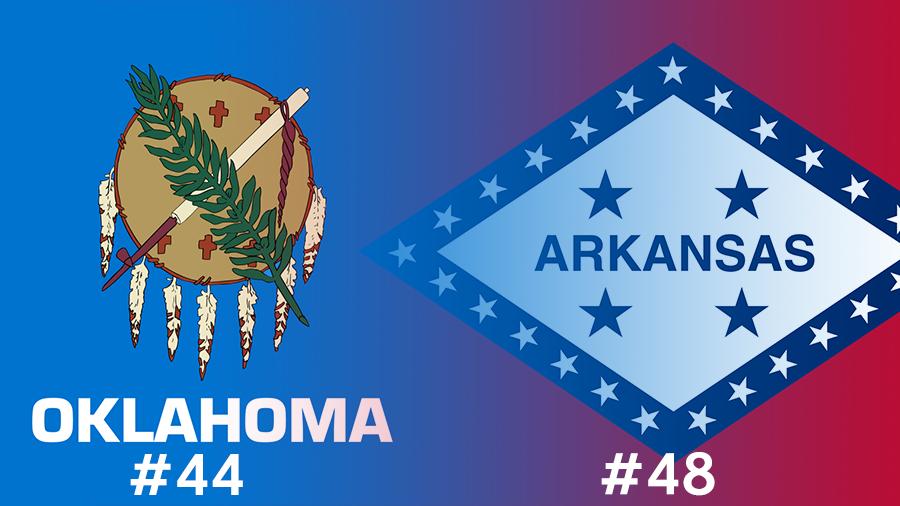 Oklahoma Arkansas