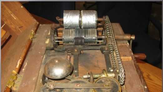 This vintage 1890s voting machine, still in use in some New Hampshire towns, will be part of Secretary of State Bill Gardner's presentation at a meeting of the Presidential Advisory Commission on Election Integrity at the New Hampshire Institute of Politics on Tuesday.