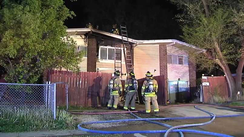 Overland Park duplex fire 85th, Kessler