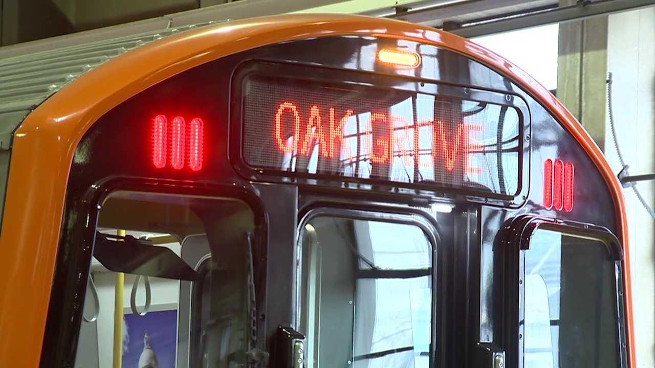 Orange Line mock up