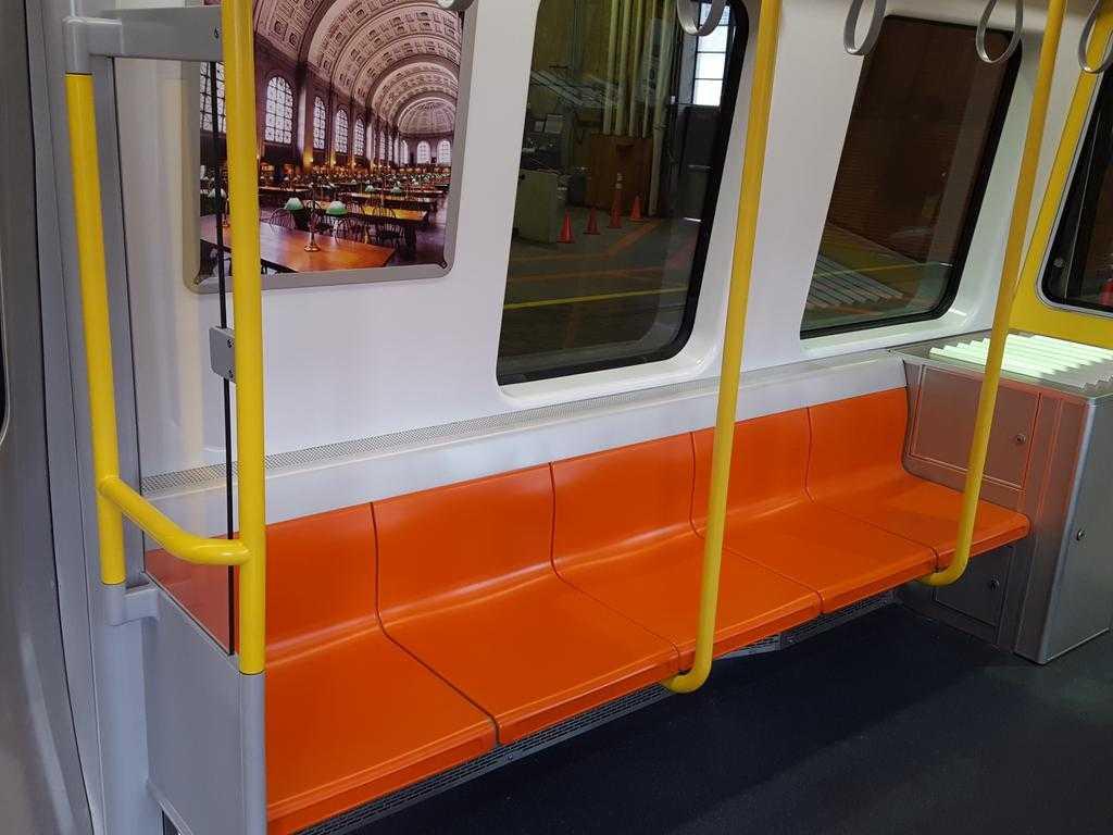 Orange line mock-up