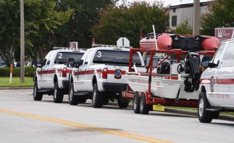 Local emergency water rescue team headed to Houston