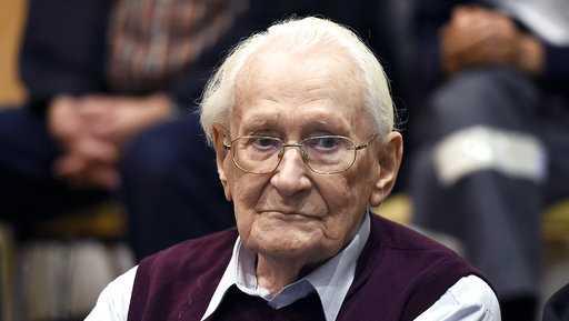 "Oskar Groening, a former Nazi death camp guard dubbed the ""Accountant of Auschwitz"""