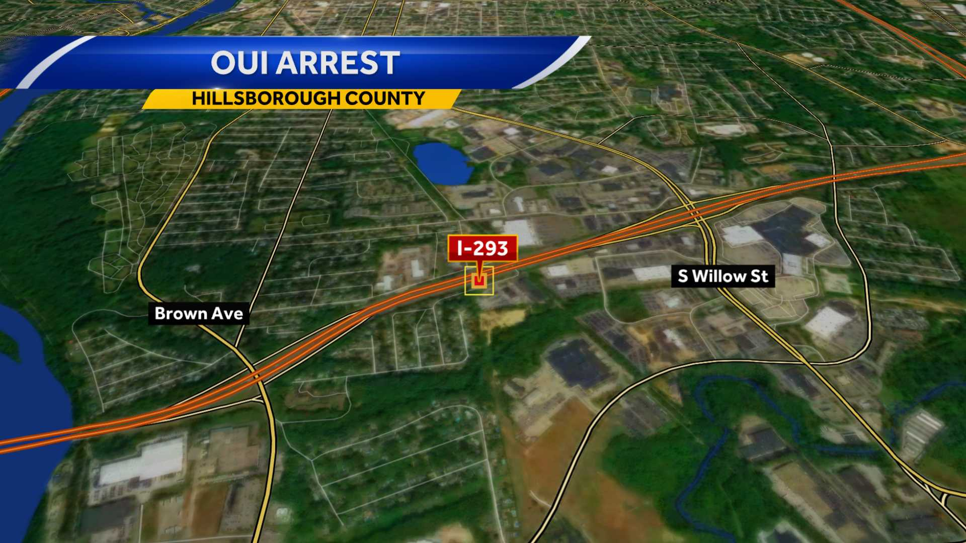 Man charged with OUI after crash on I-293