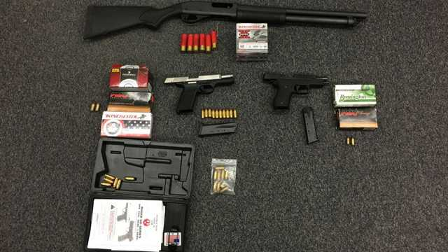 guns confiscated after shooting over parking space