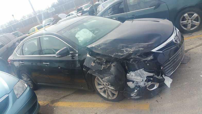 Pastor's stolen car found damaged