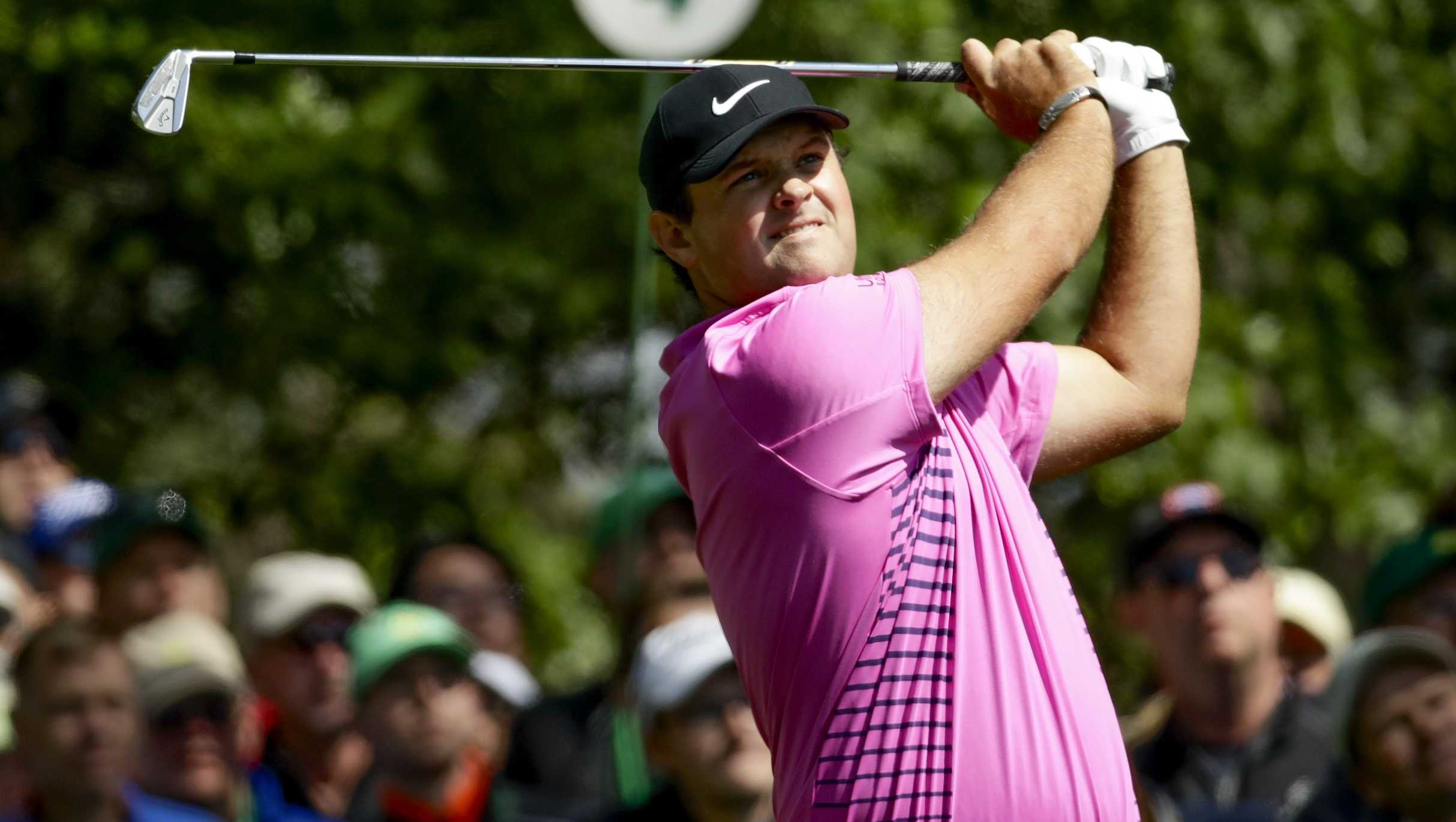 Patrick Reed at the Masters golf tournament Sunday, April 8, 2018, in Augusta, Ga.