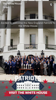White House Snapchat photos from Patriots visit