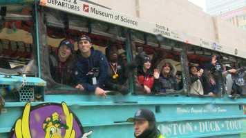 Patriots victory parade 2017