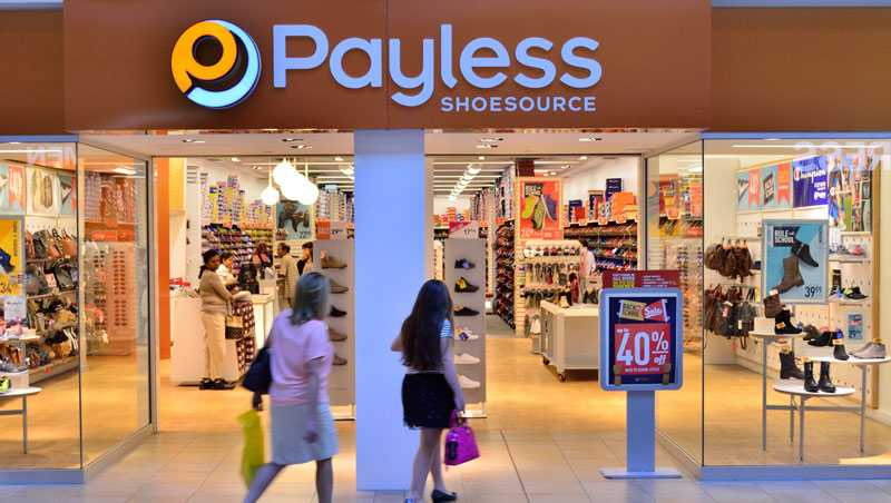 A Payless ShoeSource store.