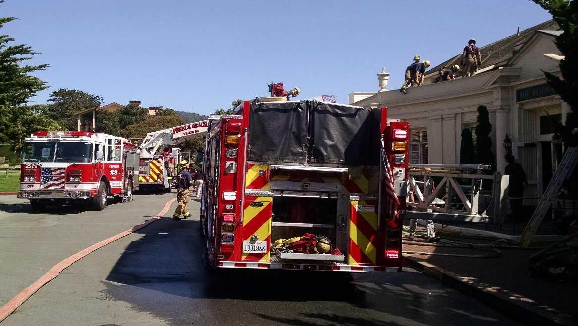 Pebble Beach Lodge fire
