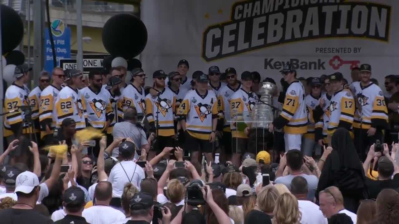 The Pittsburgh Penguins 2017 Stanley Cup championship celebration