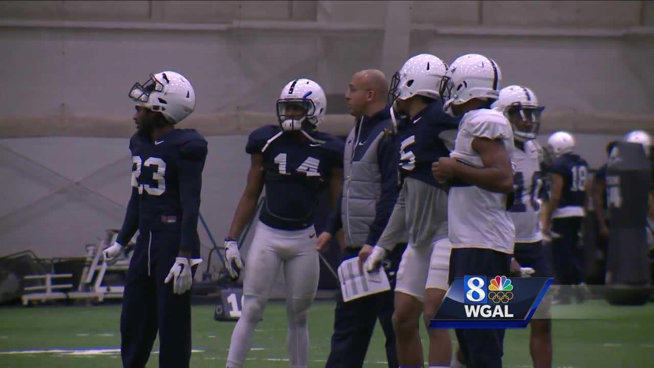 Penn State practice
