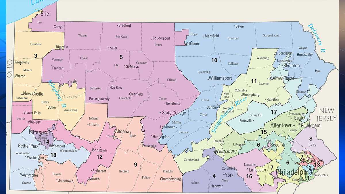 Pennsylvania congressional districts