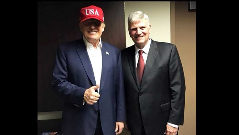 PEOTUS Donald Trump and Rev. Franklin Graham