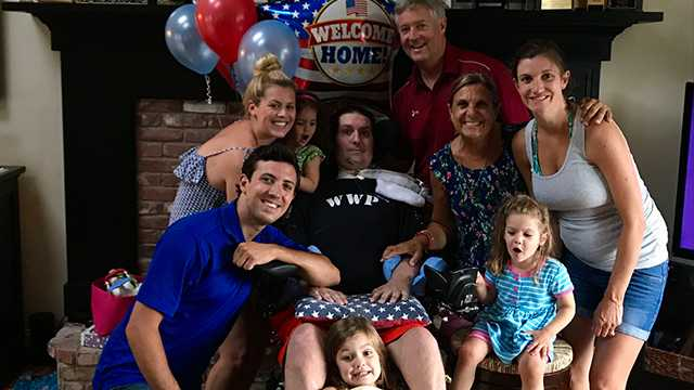 Back home! Pete Frates released from hospital