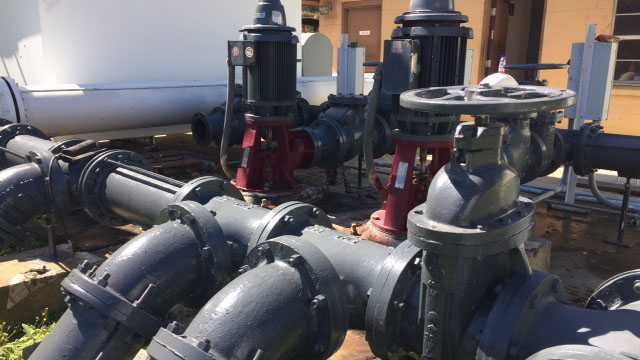 Port Gibson water pumps