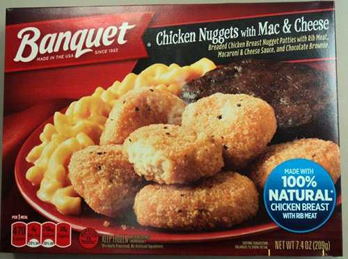 More than 55 tons of frozen Banquet meals may contain Salmonella