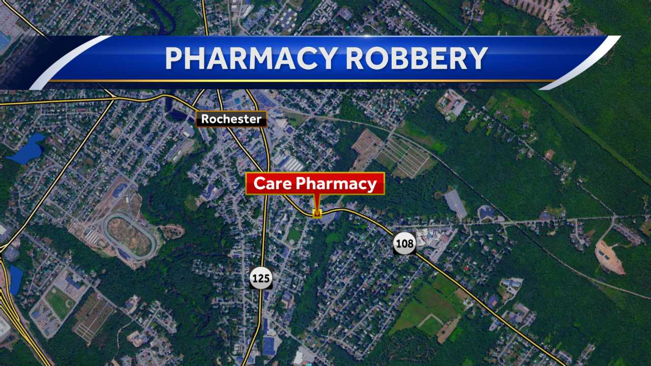 Police seeking man who stole narcotics from pharmacy