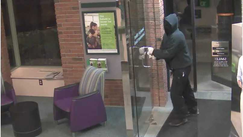 Shelburne bank robbery