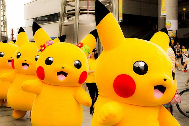 Another Man Dressed at Pikachu Jumps Over White House Fence