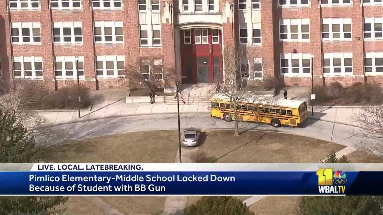 Pimlico Elementary Middle School lockdown