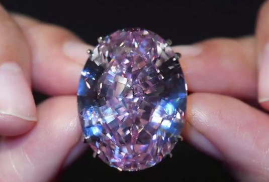 Pink diamond sells for a world record $71.2M