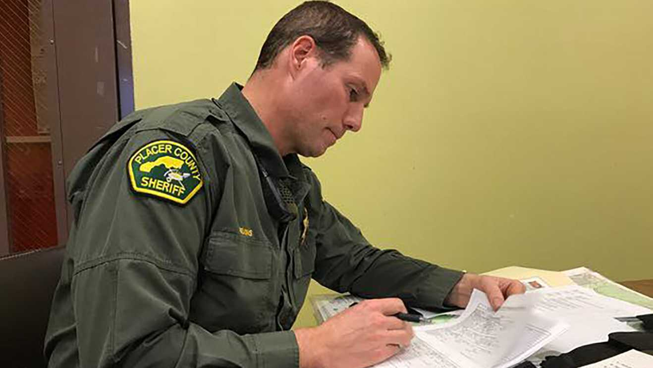 Deputies are conducting a search and rescue on a 32-year-old snowboarder on Feb. 18, 2017.