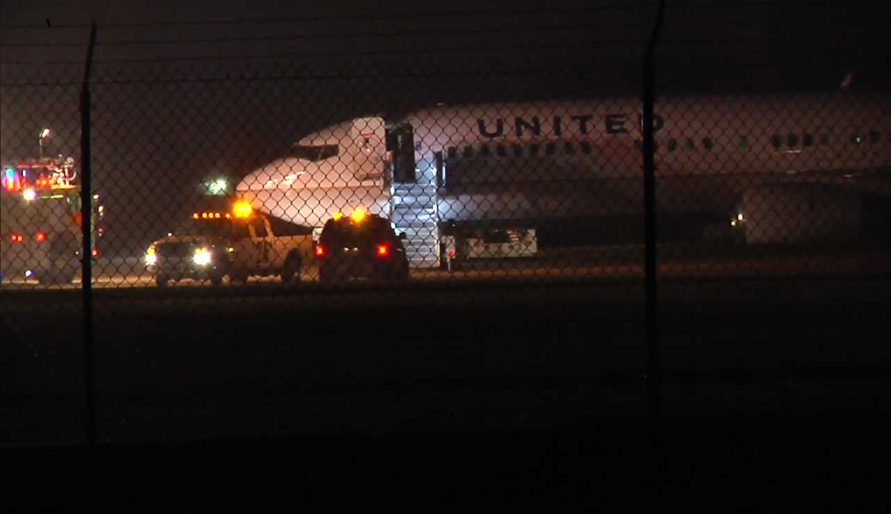Passengers OK when MSP-bound plane slides off Green Bay airport runway