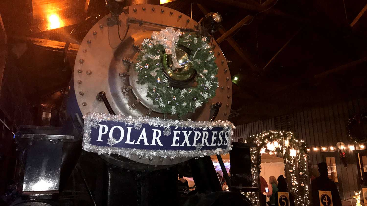 Polar Express rides kick off in Old Sacramento on Friday, Nov. 18, 2016.