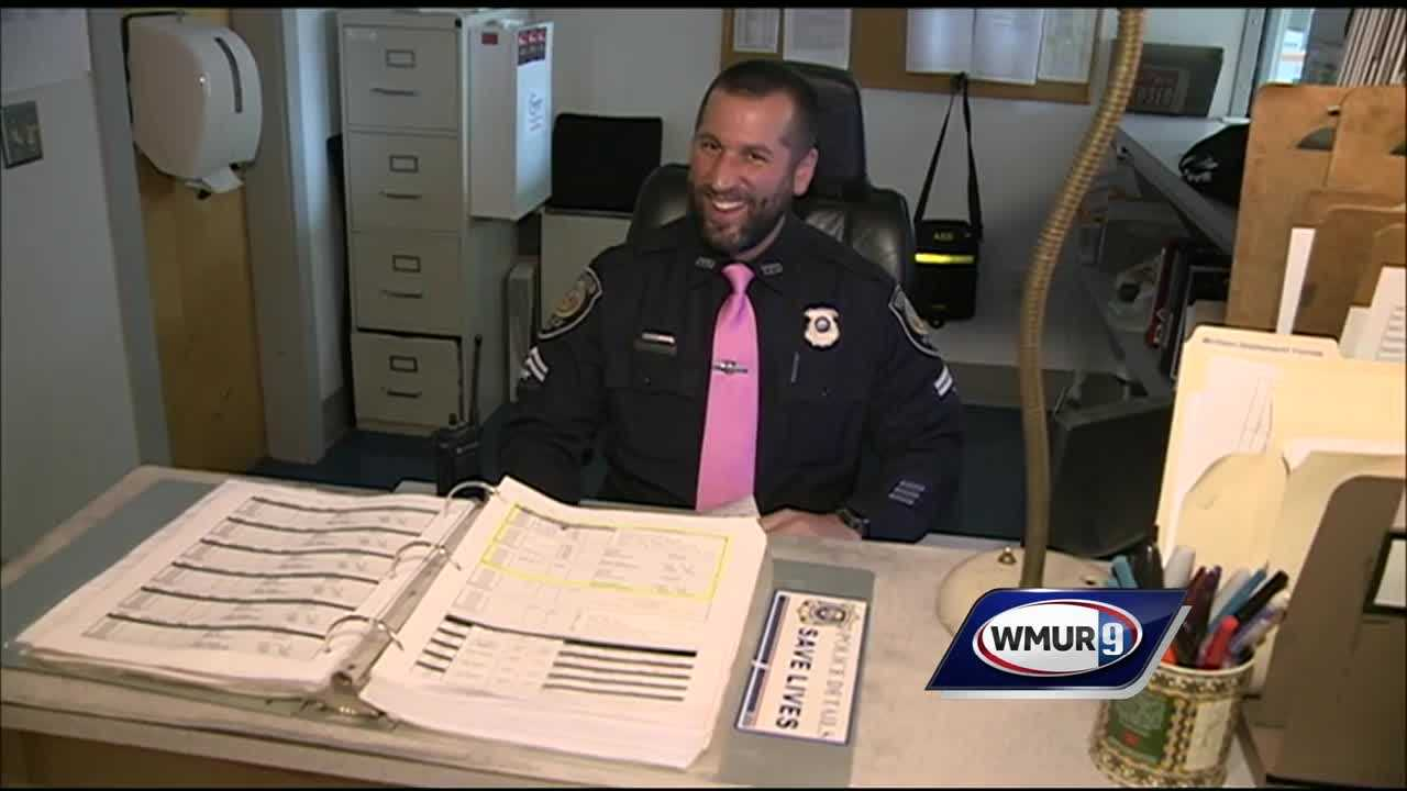 Police pink ties
