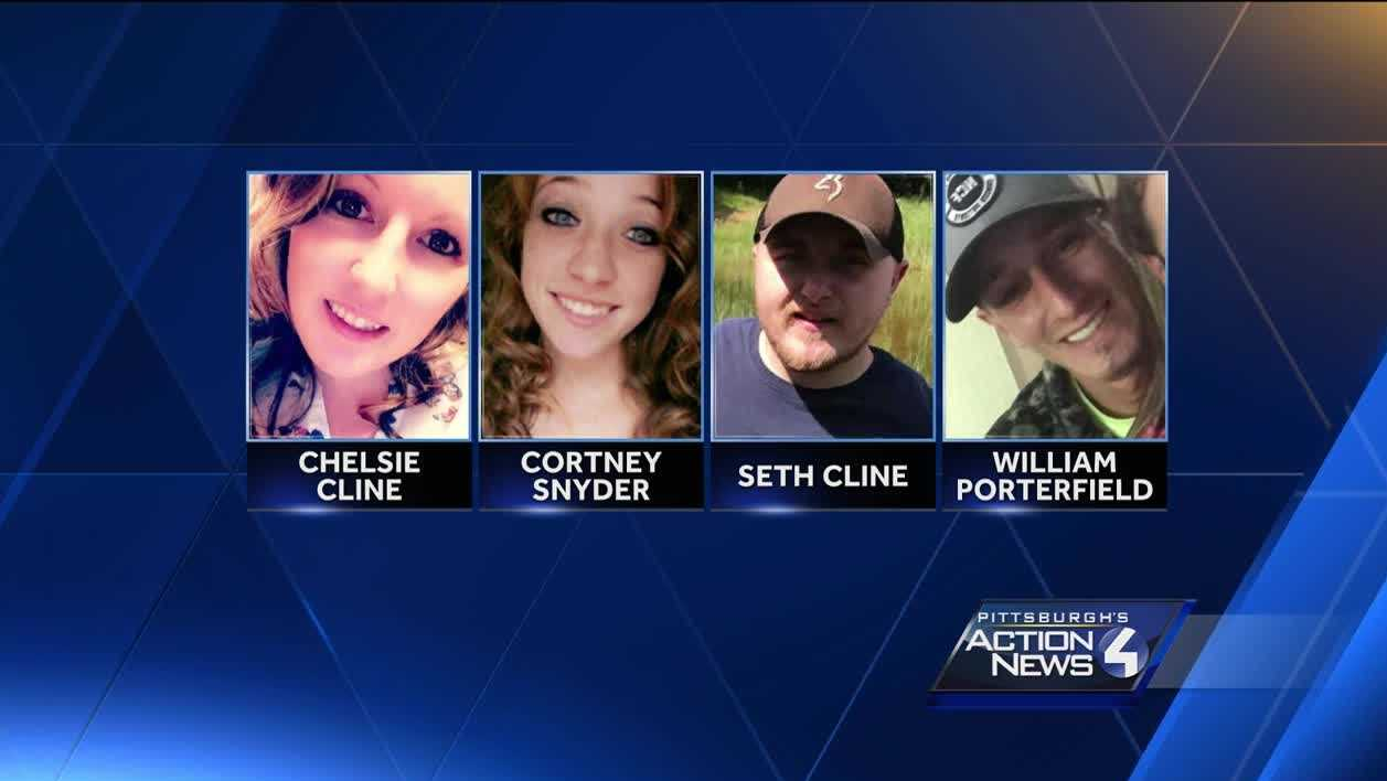Chelsie Cline, Cortney Snyder, Seth Cline, William Porterfield