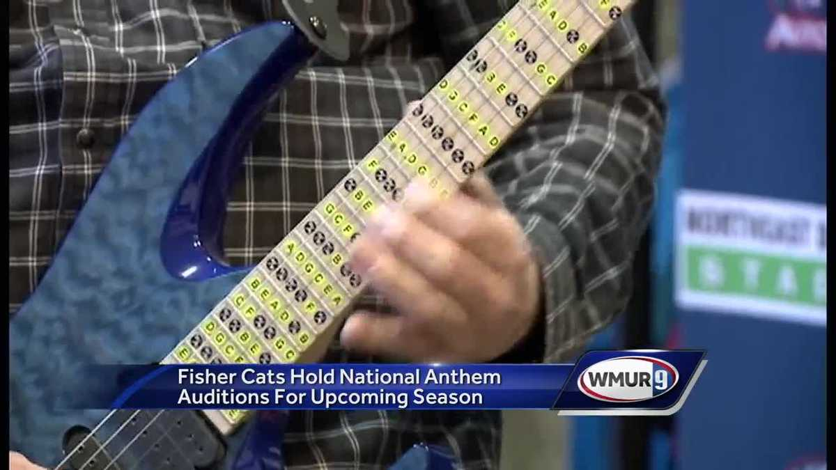 Fisher Cats hold national anthem auditions for upcoming season