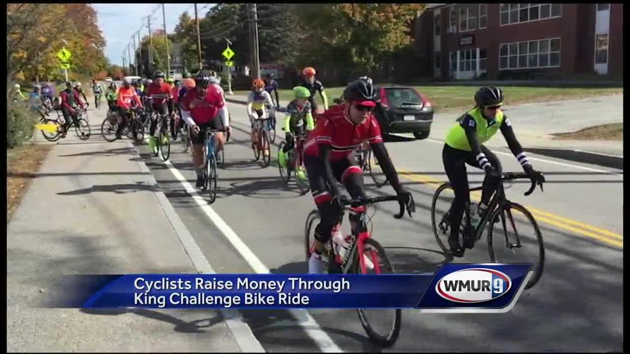 Cyclists participate in King Challenge Bike Ride