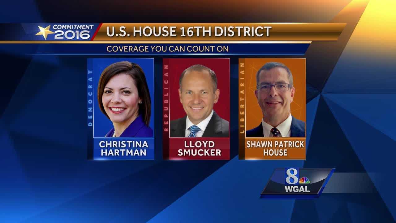 Hartman Smucker House U.S. House 16th District