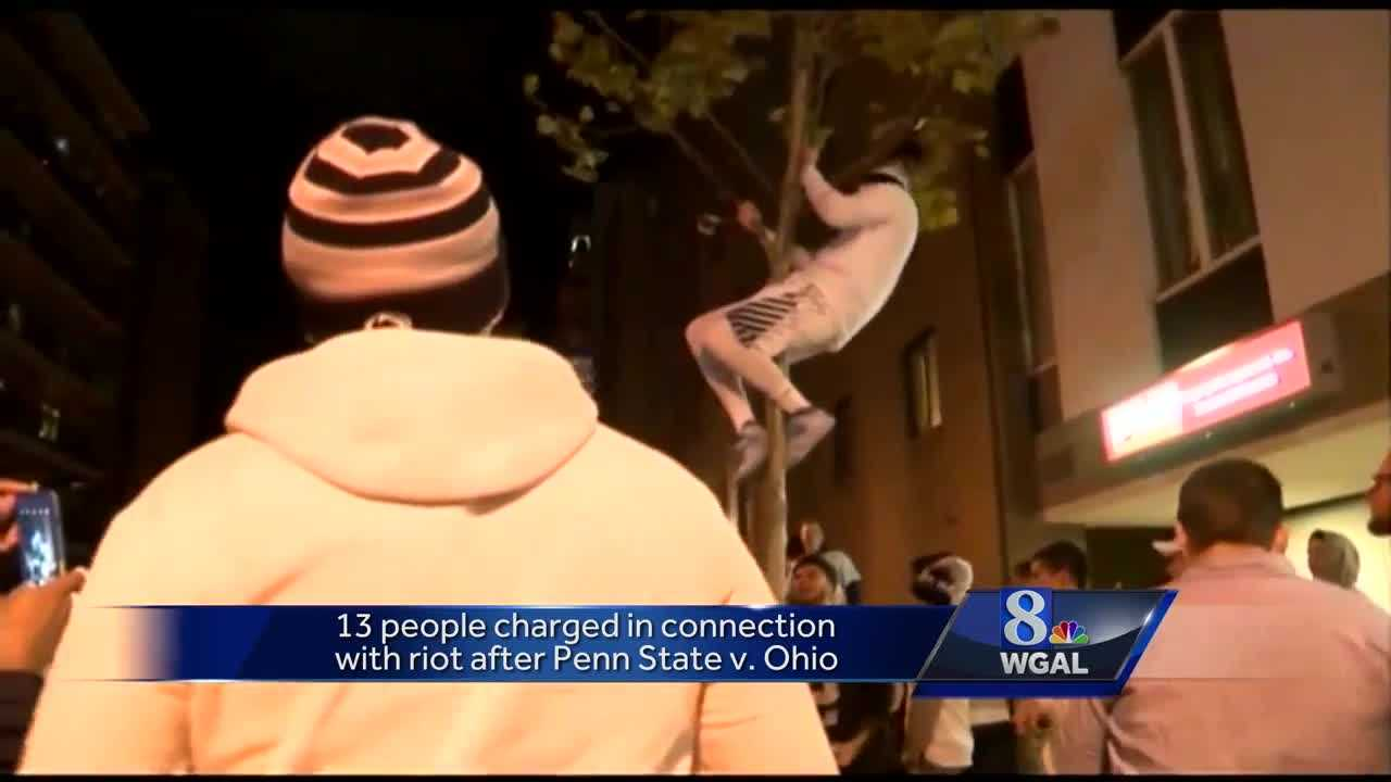 Groups gather in streets after Penn State win