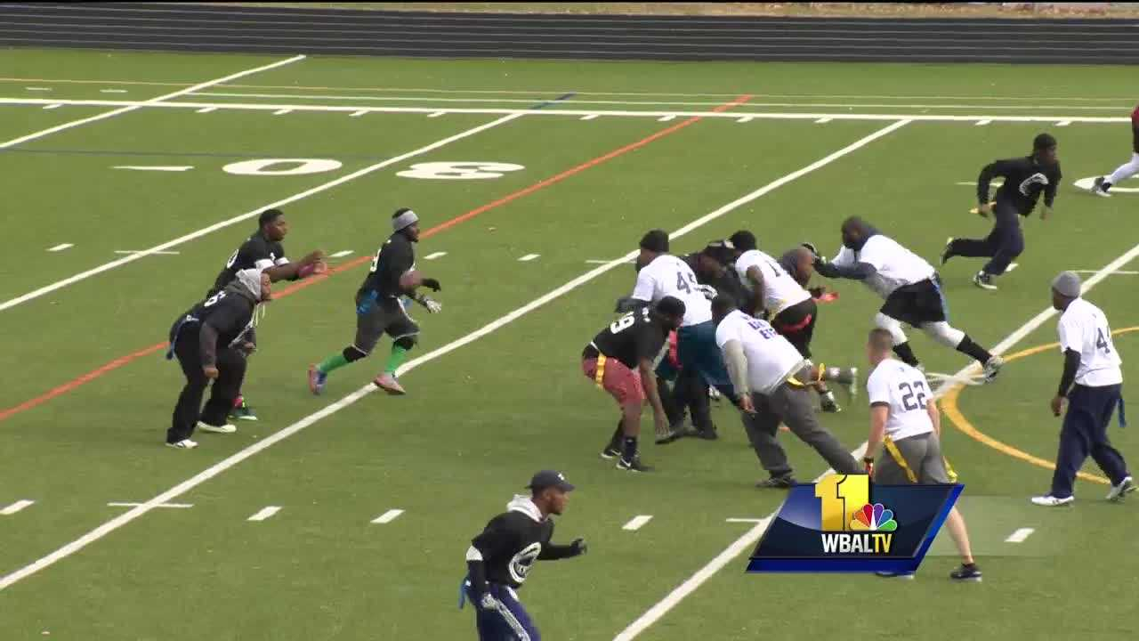 Baltimore police Unity Bowl