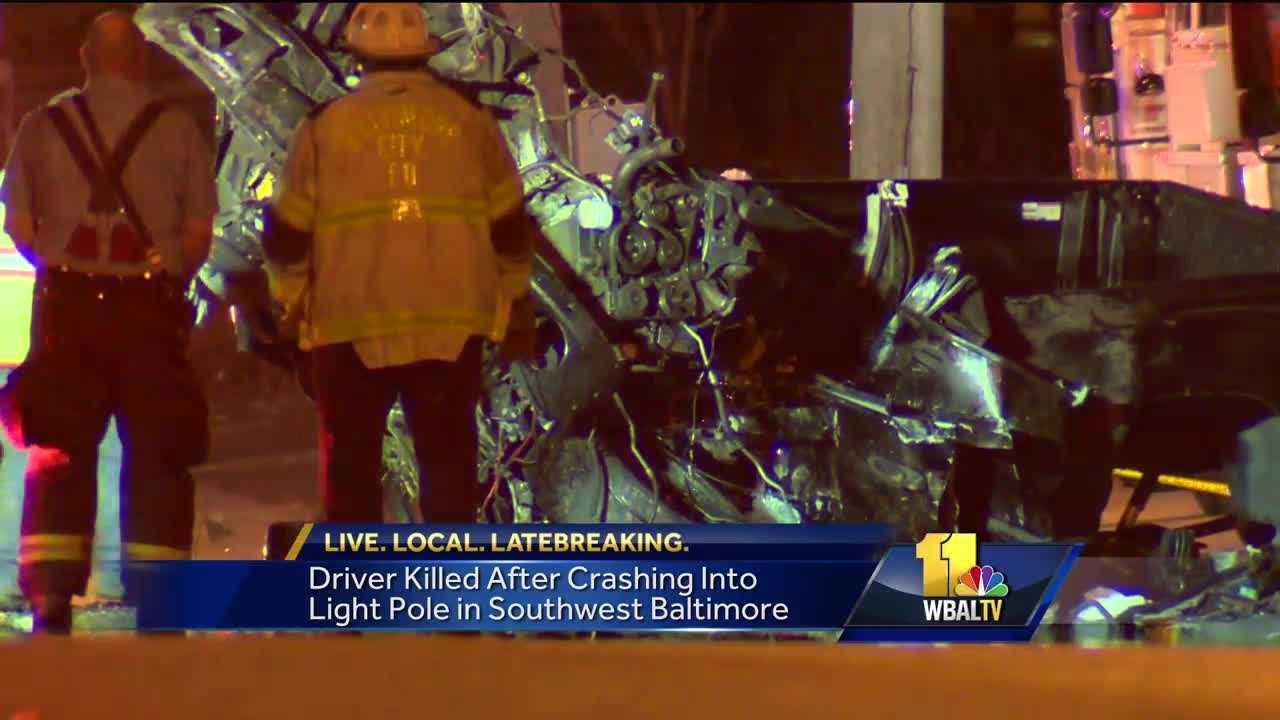 Southwest Baltimore crash