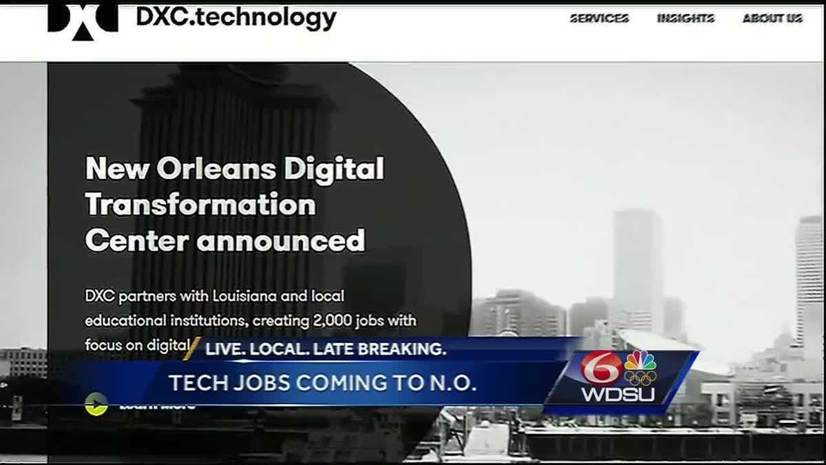 new tech firm in new orleans set to bring thousands in new jobs