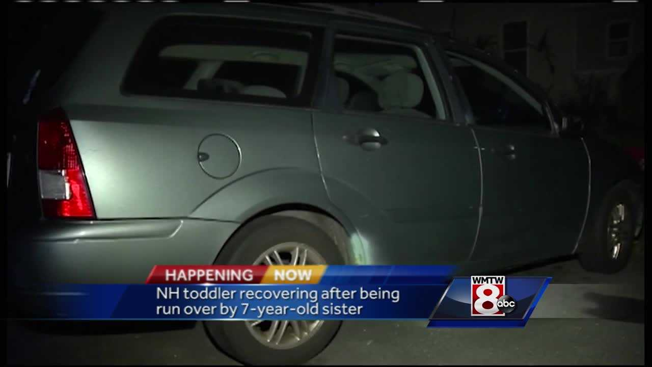 7-year-old runs over toddler sister with auto in Salem, NH
