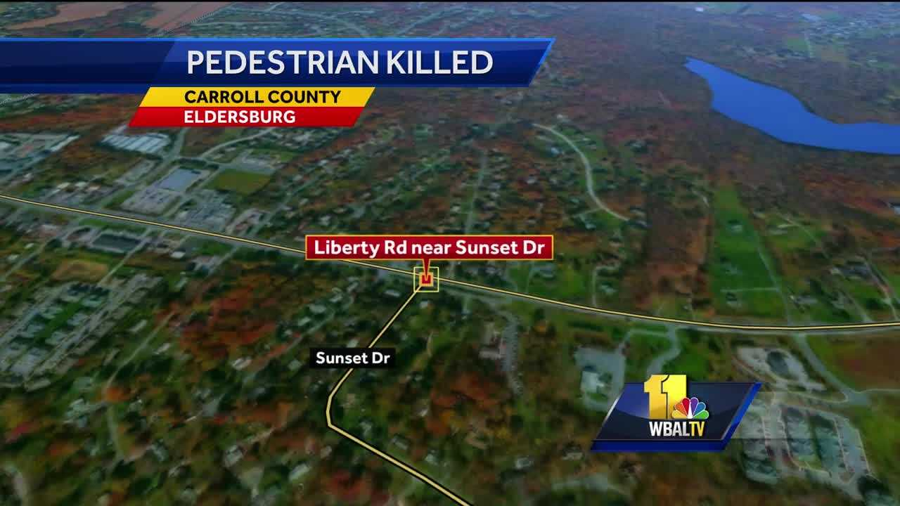 Pedestrian killed in Carroll County