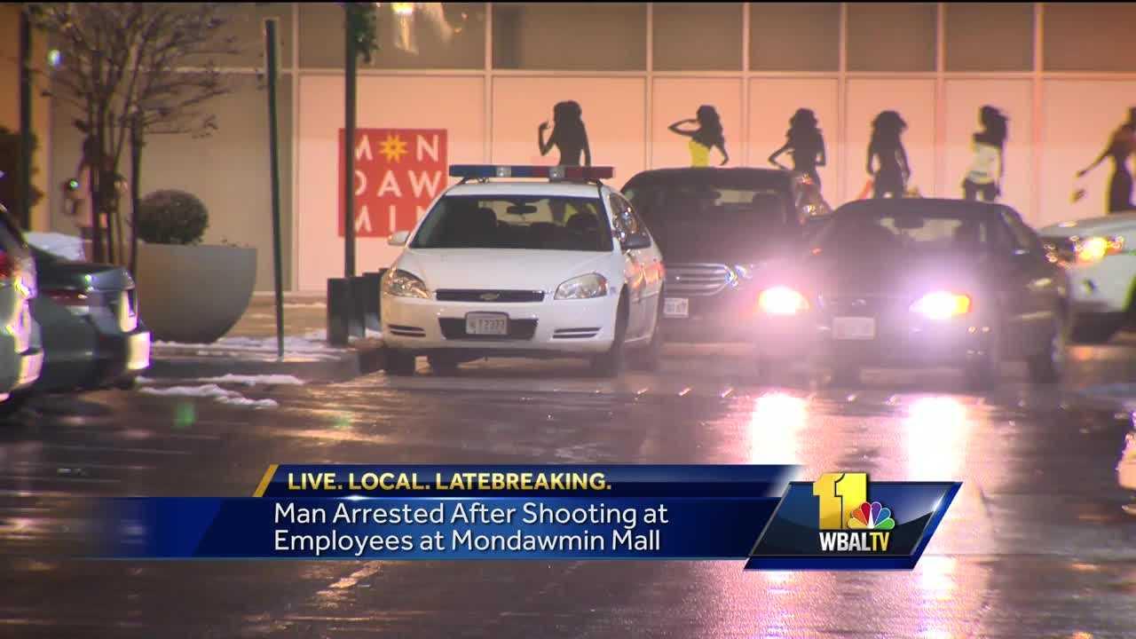 Shots fired at Mondawmin Mall