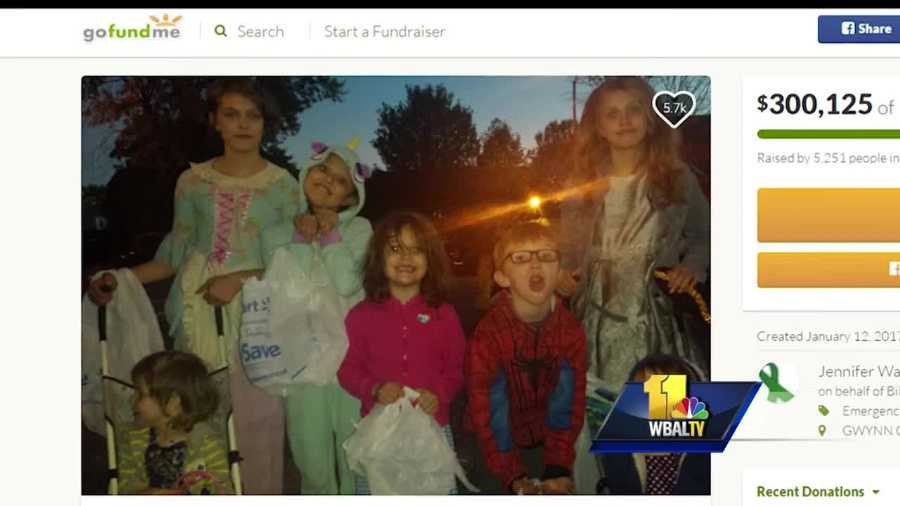 Malone family on GoFundMe page