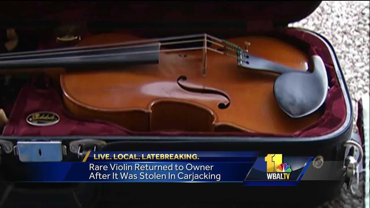 violin stolen in carjacking