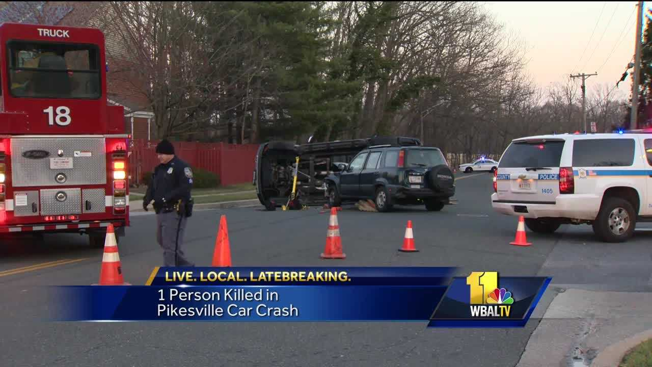 Pikesville crash