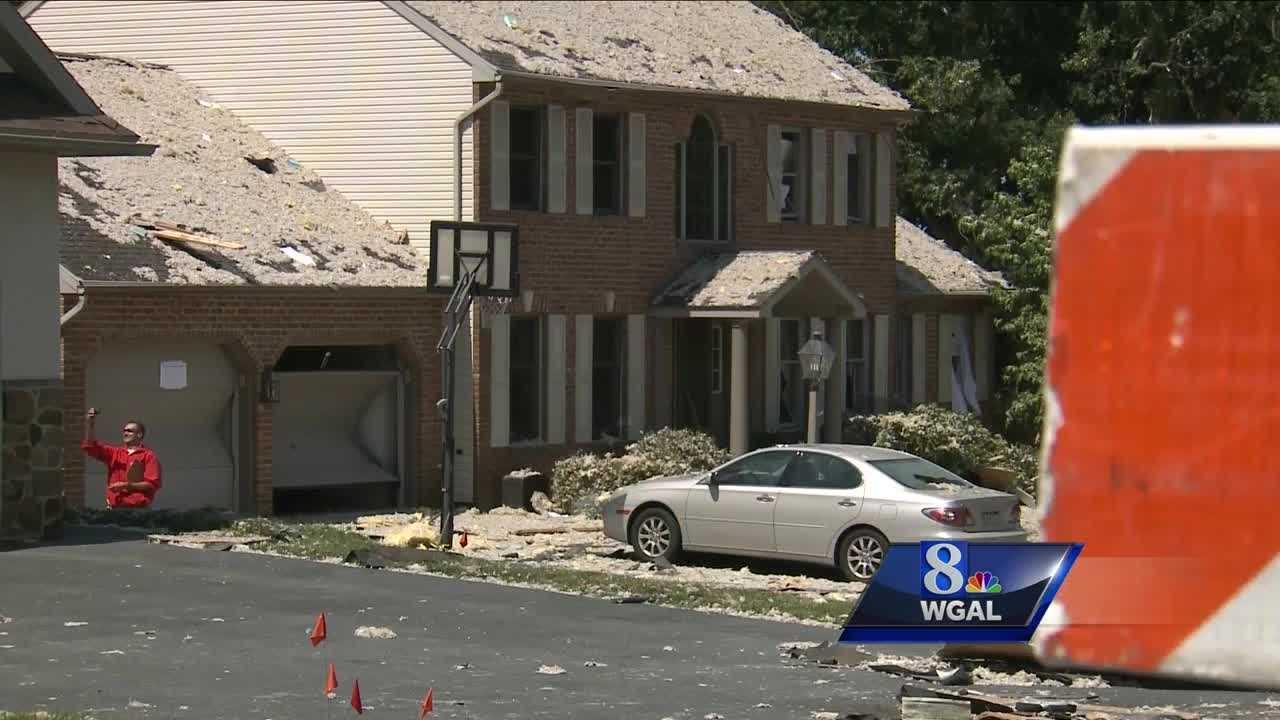 House explosion Manor Township neighbors
