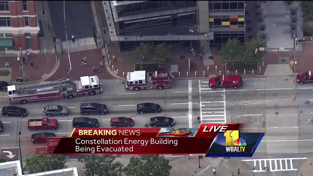 Constellation Energy building evacuation
