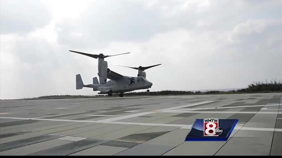 Wreckage of US Osprey found